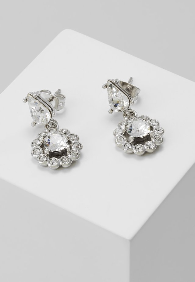 DAISY DROP EARRING - Ohrringe - silver-coloured