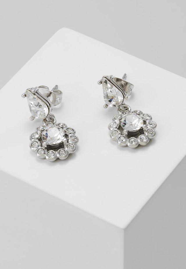 DAISY DROP EARRING - Oorbellen - silver-coloured