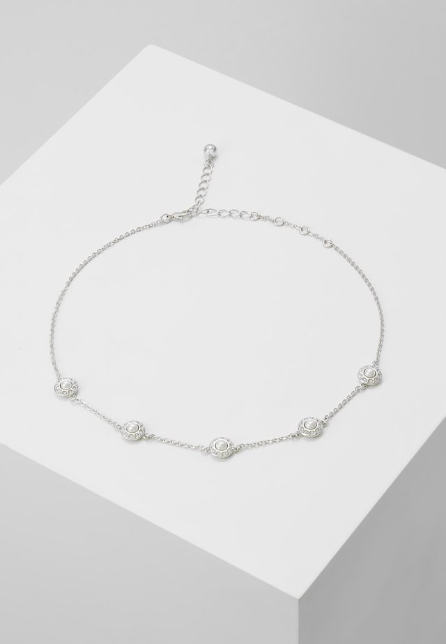LAMARRA DAISY CHOKER - Necklace - silver-coloured