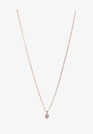 NEMARRA NANO HEART CHOKER - Ketting - rose gold-coloured
