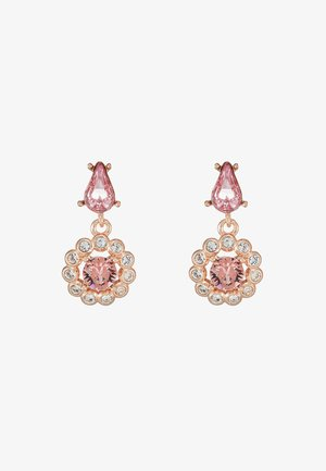 DAISY DROP EARRING - Náušnice - rose gold-coloured/pink