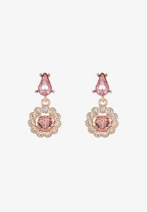 DAISY DROP EARRING - Korvakorut - rose gold-coloured/pink