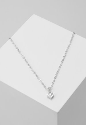 NANO HEART CHOKER - Halskæder - silver-coloured