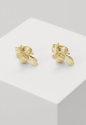 BEELLI BUMBLE BEE EARRING - Earrings - gold-coloured