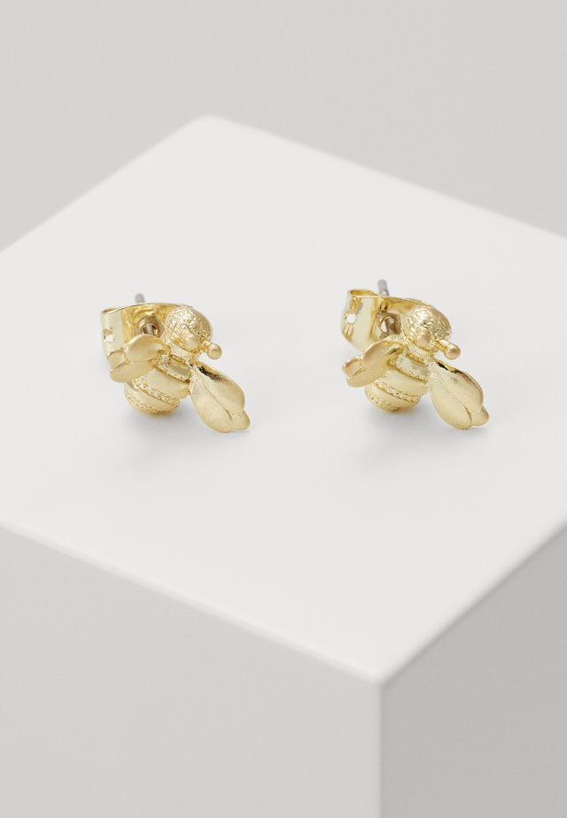 BEELLI BUMBLE BEE EARRING - Örhänge - gold-coloured
