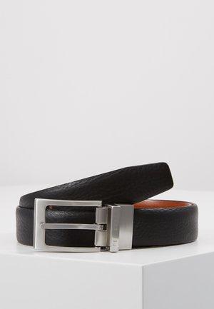 KARMER REVERSIBLE BELT - Belt business - black