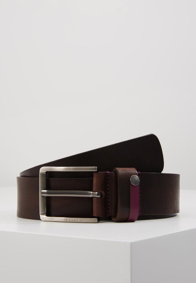 CONTRAST KEEPER  BELT - Pásek - xchocolate