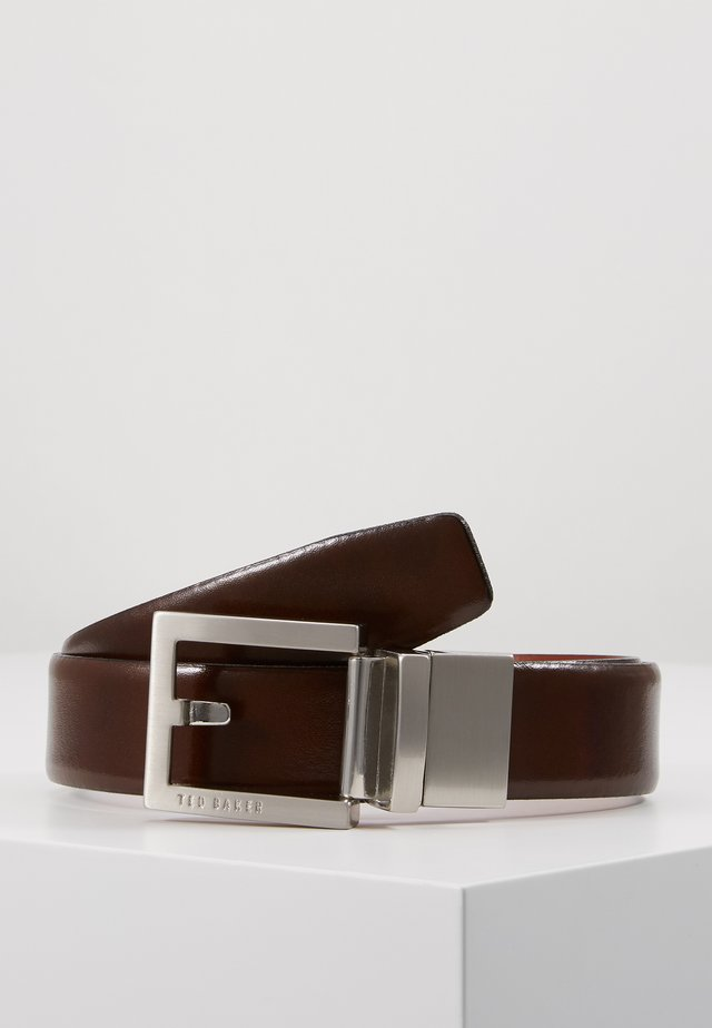 BROSNEN XOOM REVERSIBLE FIXED PRONG BELT - Belt - xchocolate