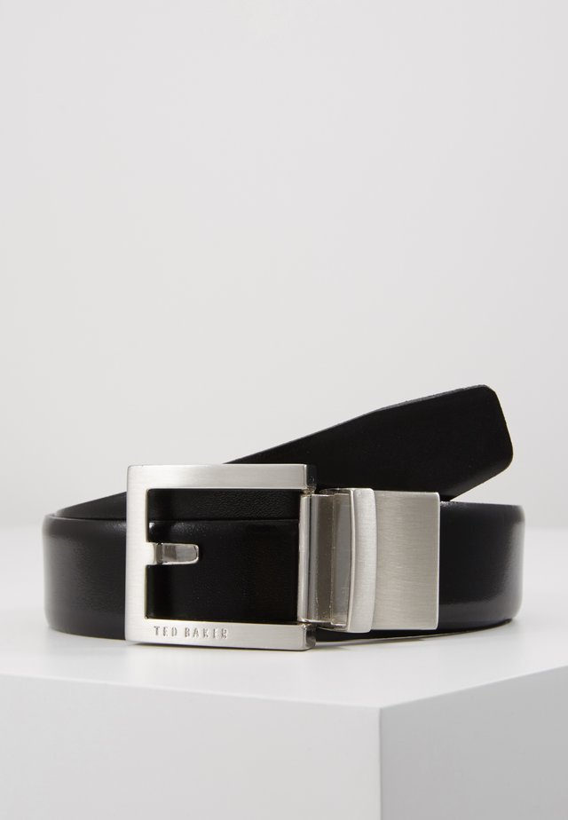 BROSNEN XOOM REVERSIBLE FIXED PRONG BELT - Belt - black