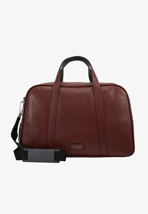 TRAVES - Weekend bag - dark red