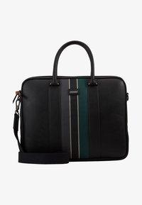 Ted Baker - DEALS WEBBING DOCUMENT BAG - Briefcase - black - 1