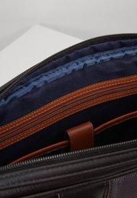 Ted Baker - DEALS WEBBING DOCUMENT BAG - Briefcase - black - 4