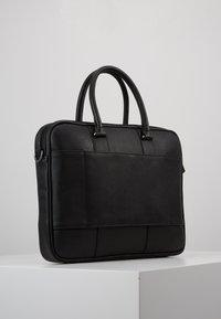 Ted Baker - DEALS WEBBING DOCUMENT BAG - Briefcase - black - 3