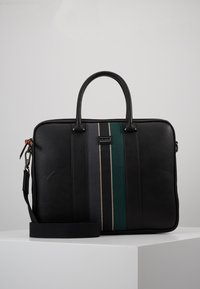 Ted Baker - DEALS WEBBING DOCUMENT BAG - Briefcase - black - 0