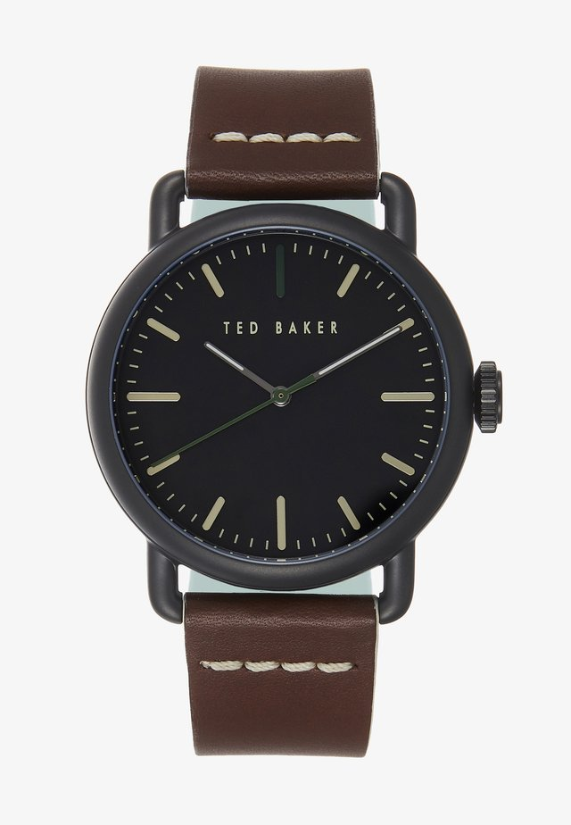 TOMCOLL - Watch - brown/black