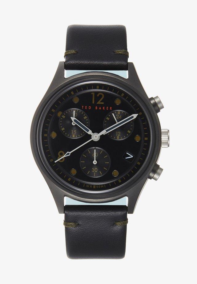 BELEENI - Cronografo - black/black