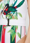 Ted Baker - ANALEE TUTTI FRUTTI BELTED SWIMSUIT - Badeanzug - white
