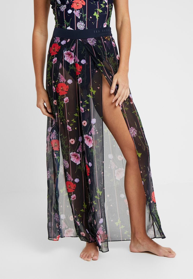 Ted Baker - LILZEE HEDGEROW TROUSER COVER UP - Beach accessory - dark blue