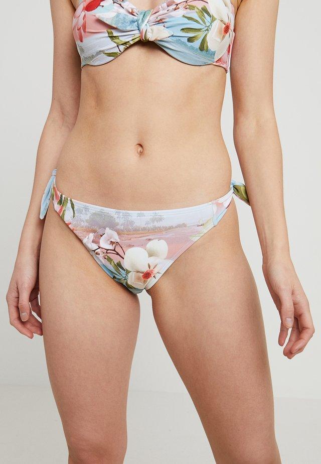 SYDNEEY CHOC CHIP KNOT BOTTOM - Bikini bottoms - pink