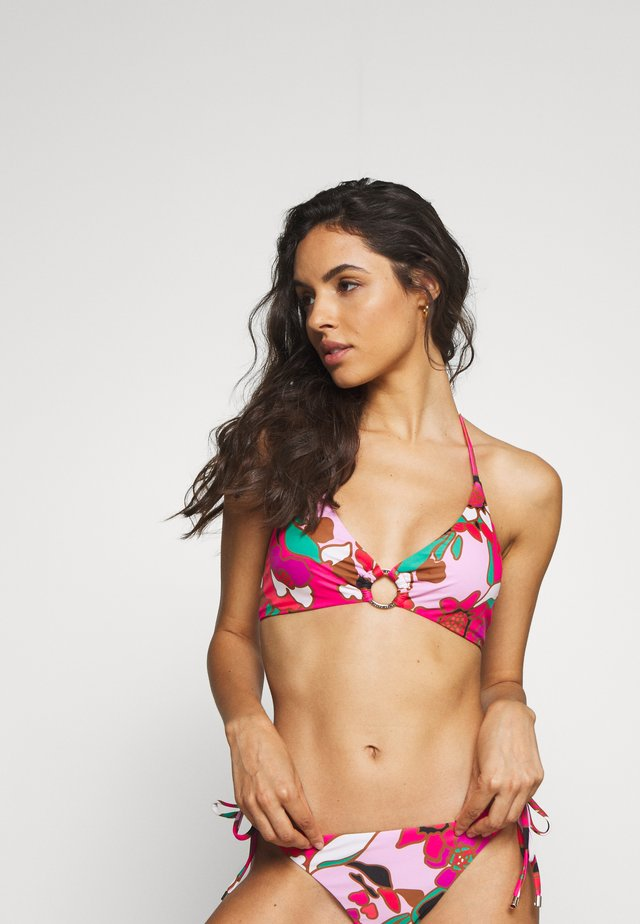 PINATA O RING TRIANGLE - Bikini top - pink