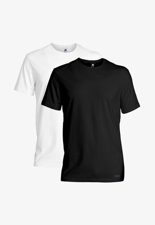 2 PACK - Undertröja - black,white