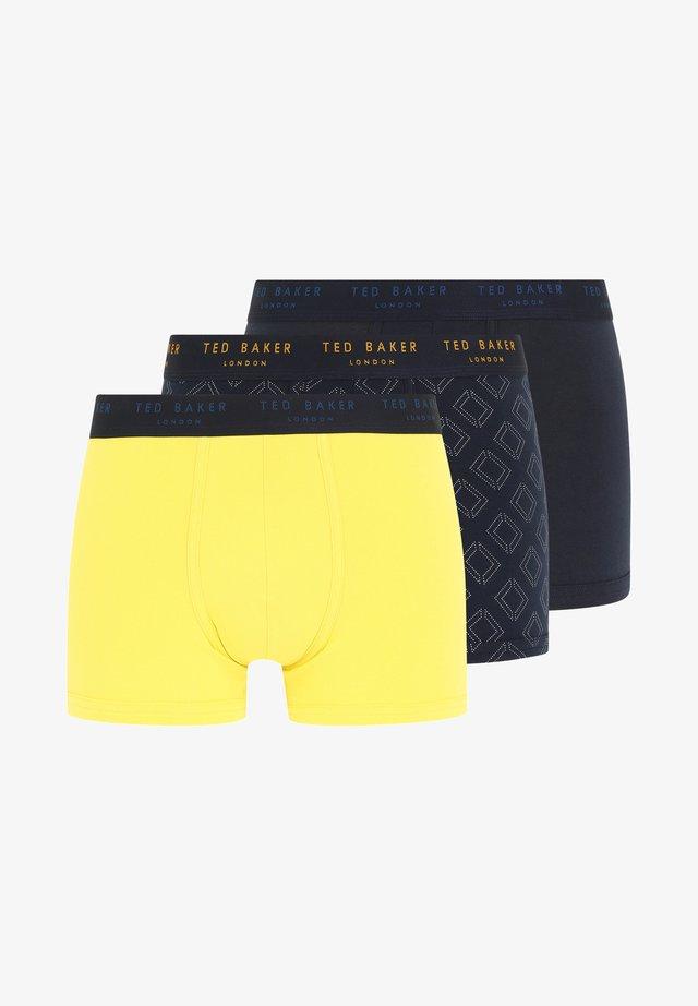 3 PACK - Onderbroeken - yellow