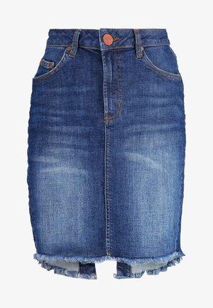 PENCIL SKIRT - Denimová sukně - cool blue