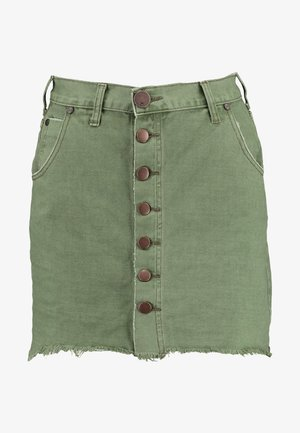 VIPER HIGH WAIST SKIRT - Jeansrock - super khaki