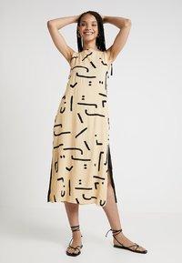 One Teaspoon - ABSTRACT WARRIOR DRESS - Maxi dress - ochre - 1
