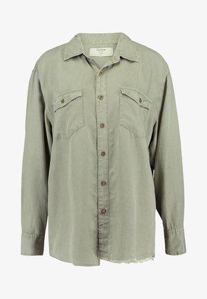 SAFARI LIBERTY - Button-down blouse - washed khaki