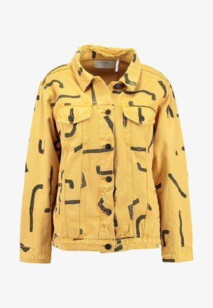 WARRIOR BANDIT TRUCKER JACKET - Denim jacket - tobacco