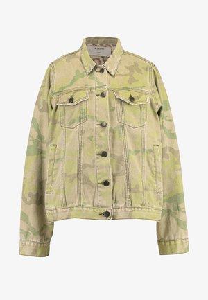 SAFARI CAMO BANDITS JACKET - Denim jacket - light green