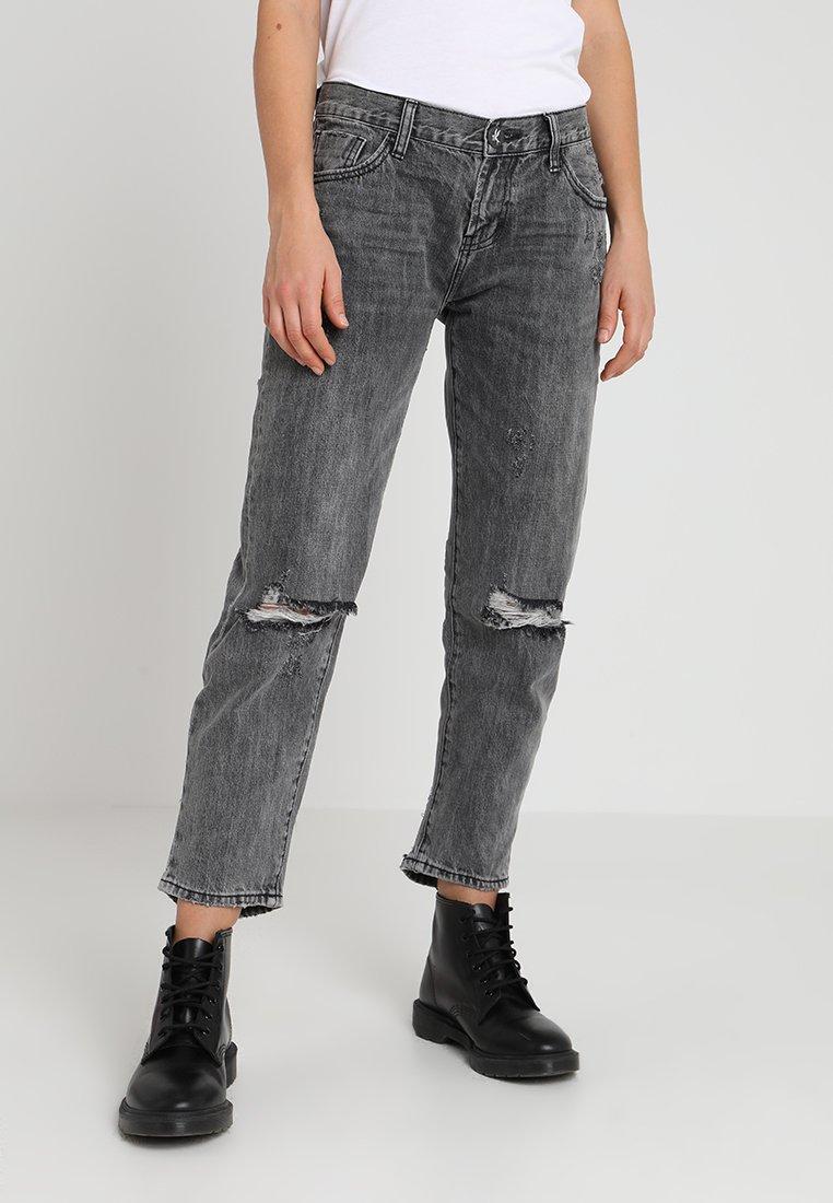 One Teaspoon - AWESOME BAGGIES - Straight leg jeans - opium
