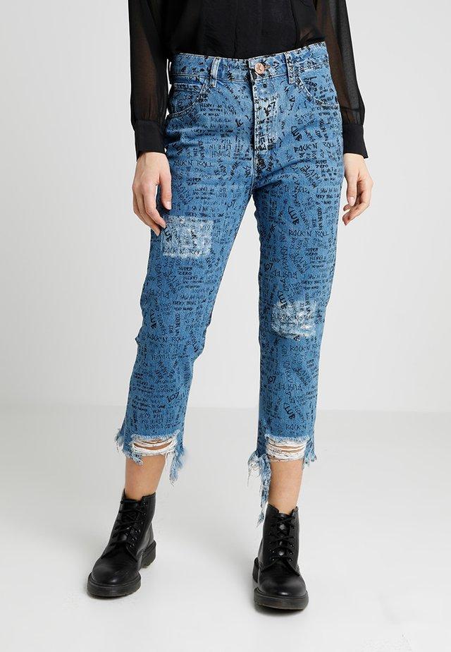 HOOLIGANS - Jeans slim fit - blue buoy