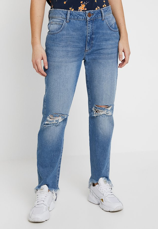 TRUCKERS MID RISE - Jeans straight leg - hollywood