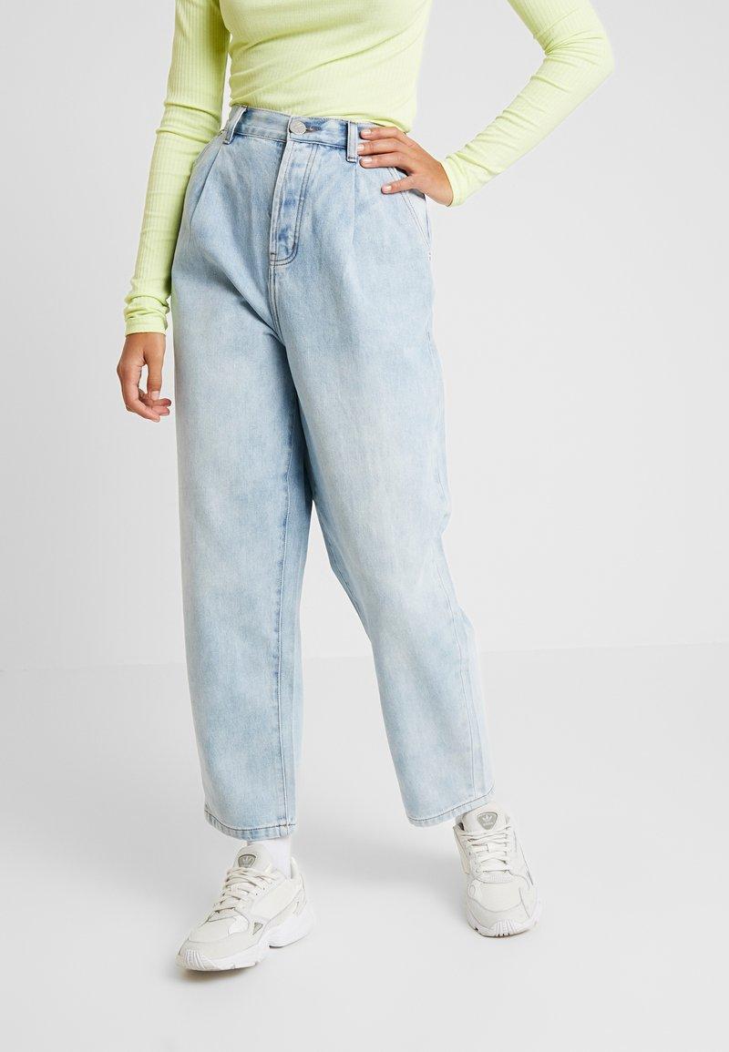 One Teaspoon - SMITHS HIGH WAIST TROUSER - Flared Jeans - wilde blue