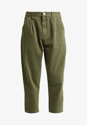 MILITARY SMITHS HIGH WAIST TROUSER - Jeans Skinny Fit - olive