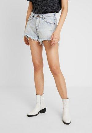 BONITA HIGH WAIST - Denim shorts - antique