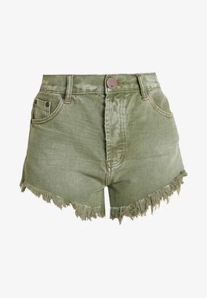 OUTLAWS - Denim shorts - super khaki
