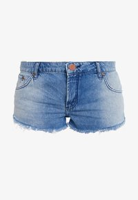 One Teaspoon - HOLLYWOOD BONITA LOW WAIST - Shorts di jeans - blue denim - 3