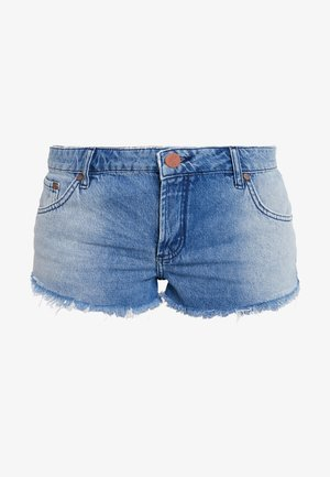 HOLLYWOOD BONITA LOW WAIST - Jeansshorts - blue denim