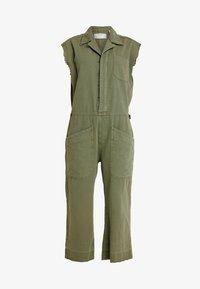 One Teaspoon - SAFARI CAMP OVERALLS - Jumpsuit - khaki - 4