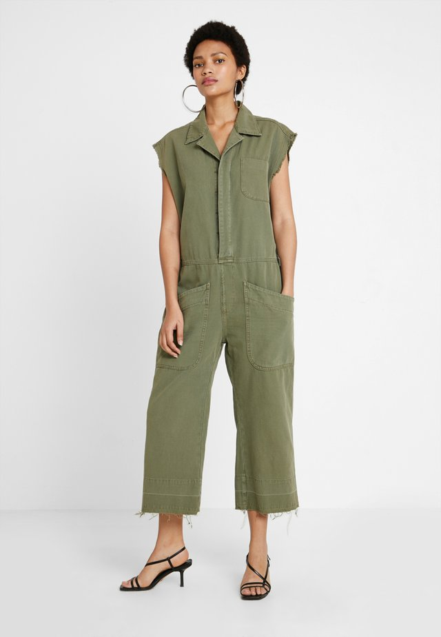 SAFARI CAMP OVERALLS - Jumpsuit - khaki