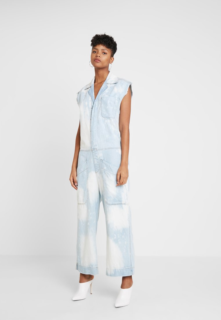 One Teaspoon - CAMP OVERALLS - Jumpsuit - sea drifter