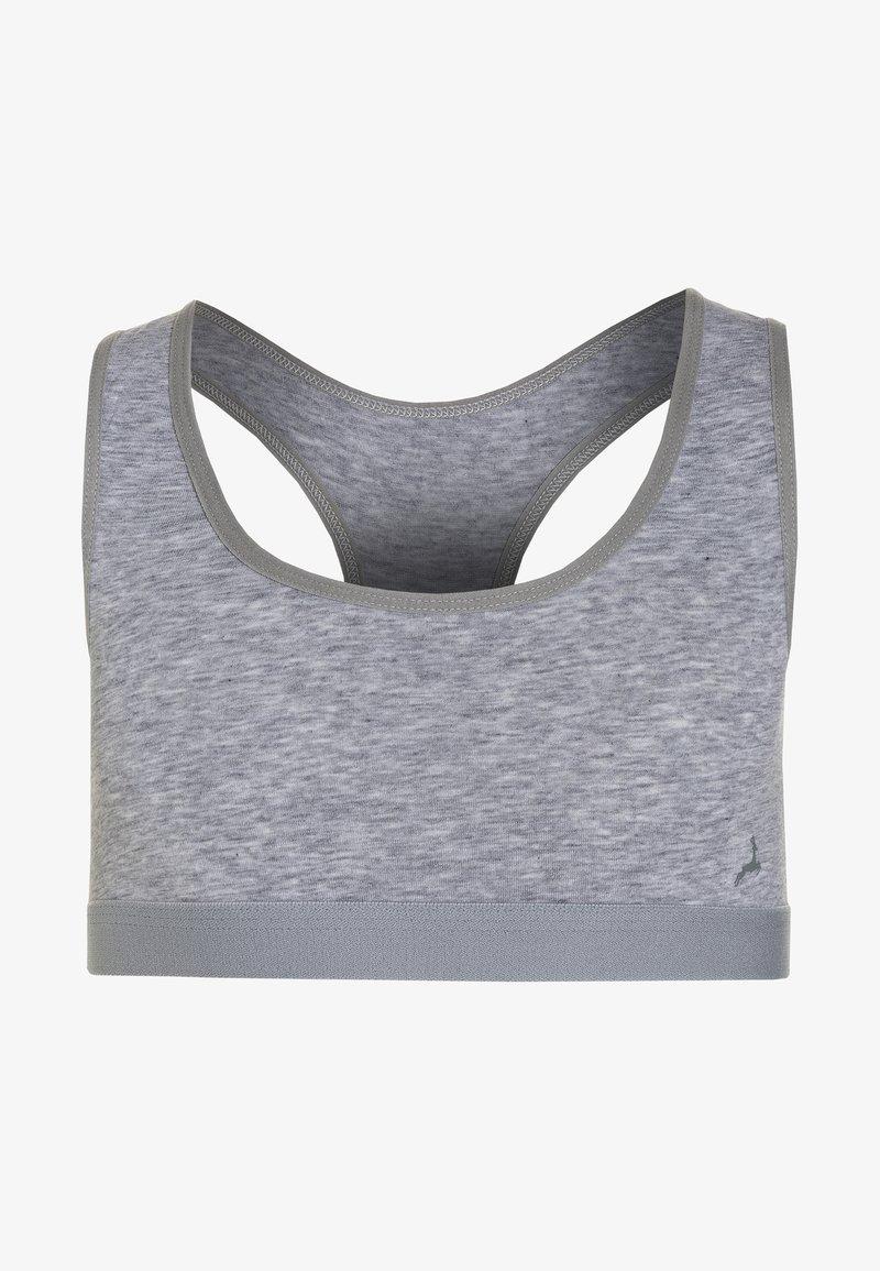 Ten Cate - GIRLS SPORT - Bustier - light grey melange