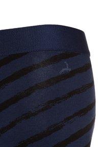 Ten Cate - BOYS SHORT 2 PACK - Panties - light grey melee/deep blue - 3