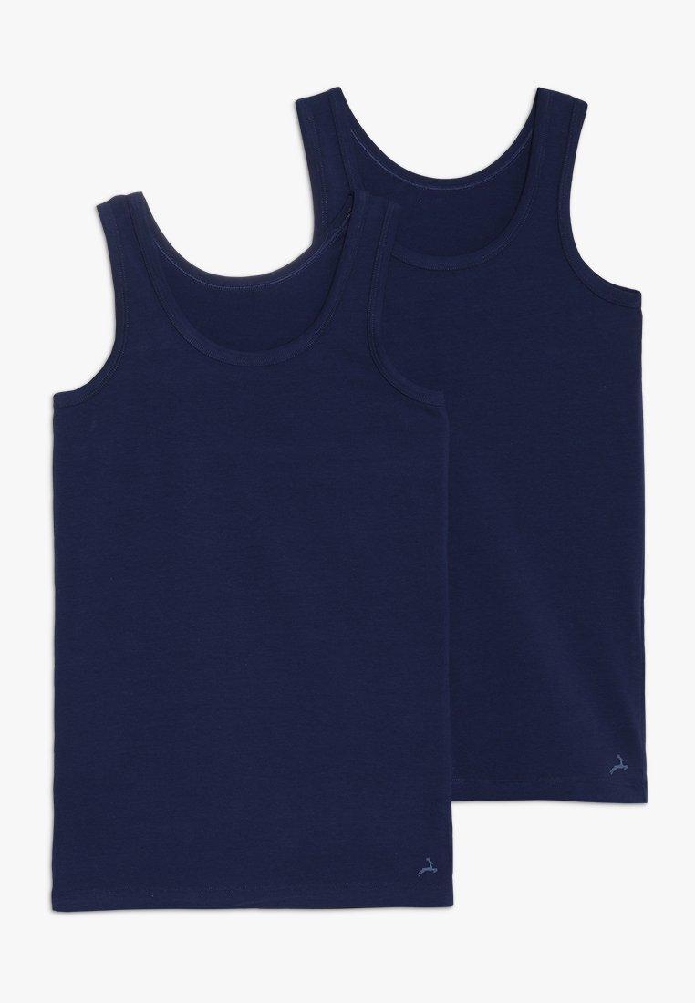 Ten Cate - BOYS 2 PACK - Unterhemd/-shirt - dark blue
