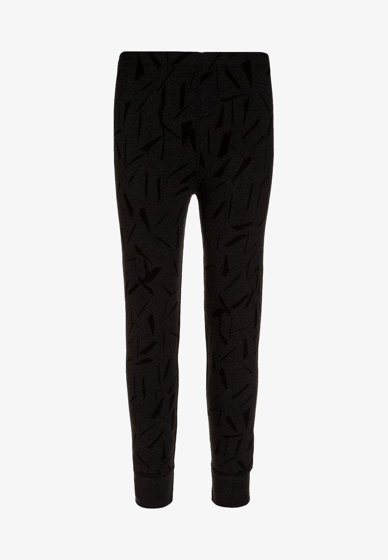 Ten Cate - HOME NIGHT & BOY/GIRL  - Spodnie od piżamy - black