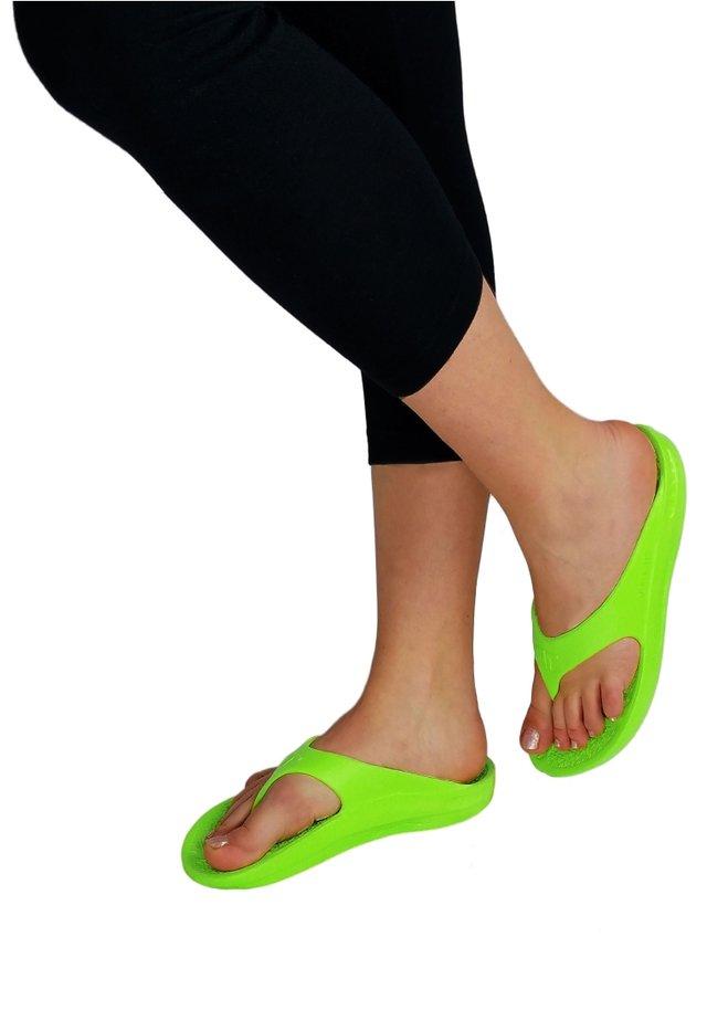 Pool shoes - key lime