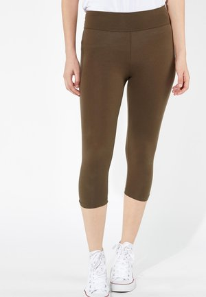 CAPRI - Leggings - Trousers - military green